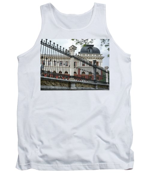 The Back Of The Ministry Of Agriculture Building In Madrid Tank Top