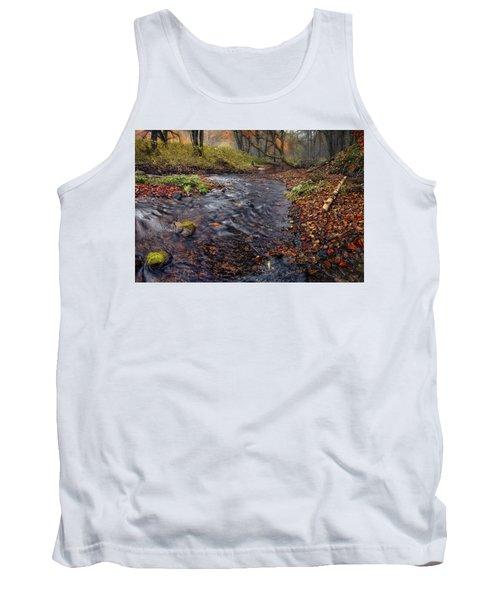 The Breath Of Autumn Tank Top