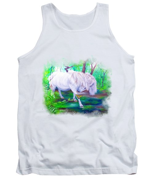 The Butterfly And The Pony Tank Top