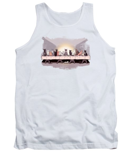 The Cat Supper Tank Top