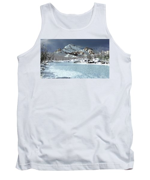 The Courtship Of Ice Tank Top