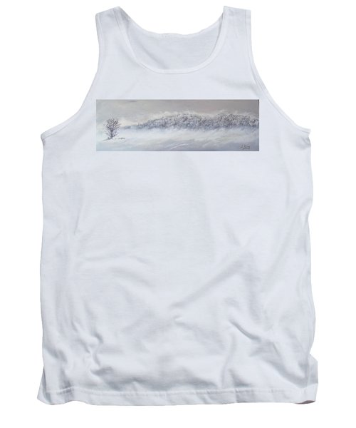 The Front Of Cold Tank Top