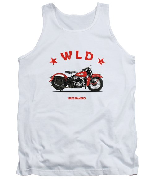 The Harley Wld Motorcycle 1941 Tank Top