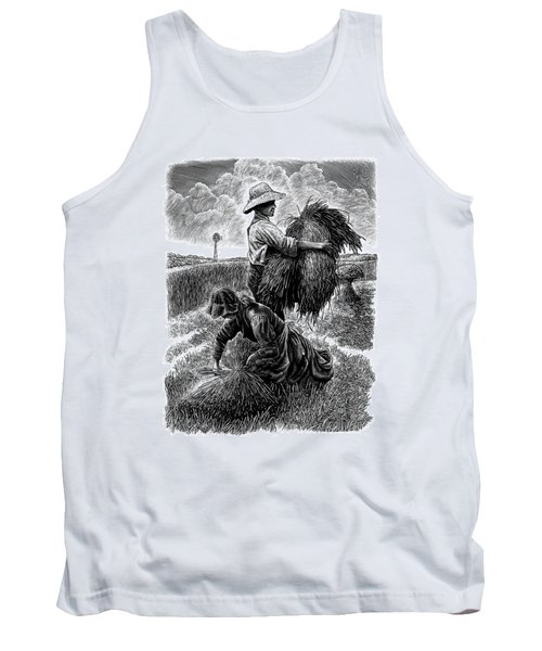 The Harvesters - Bw Tank Top