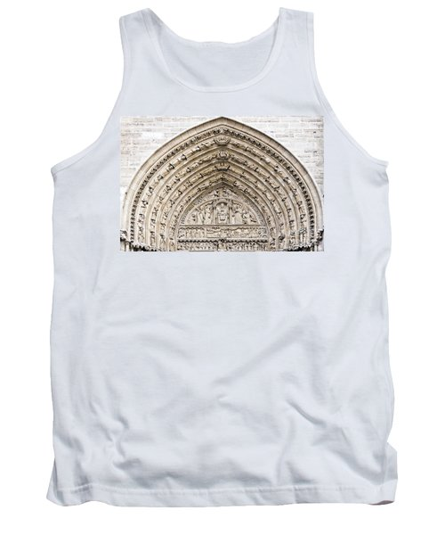 The Judgement Portal Of Notre Dame De Paris Tank Top