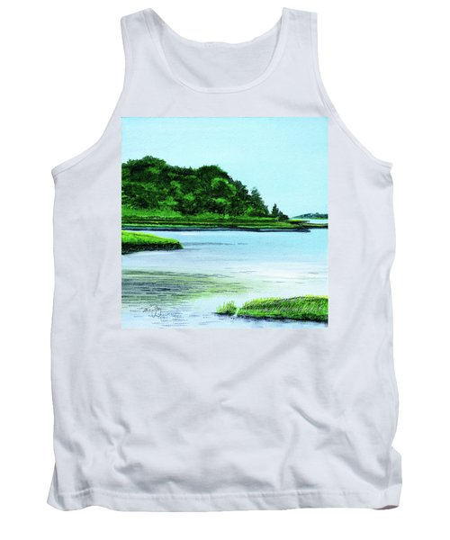 The Little River Gloucester, Ma Tank Top
