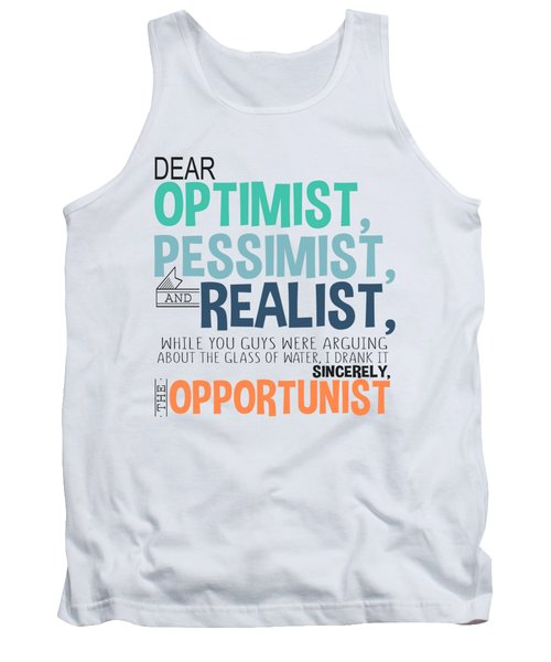 The Opportunist Tank Top