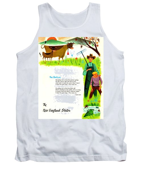 The Pasture By Robert Frost Tank Top