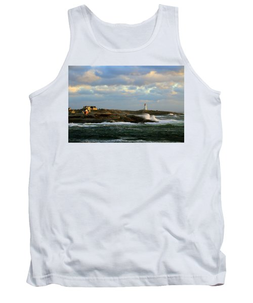 The Peggy's Cove Seascape Tank Top