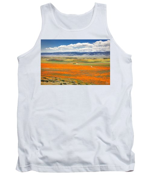 The Road Through The Poppies 2 Tank Top