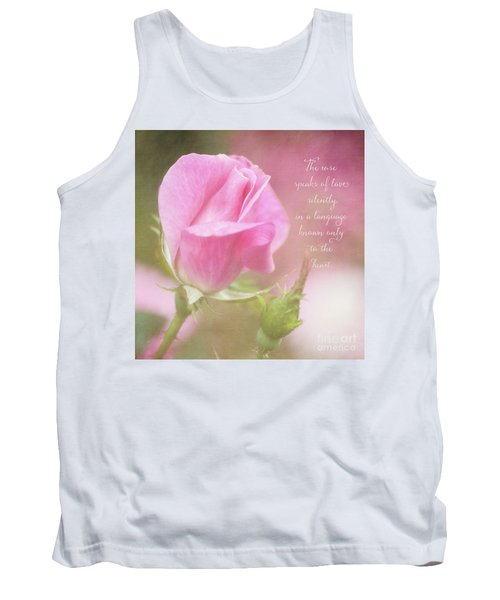 The Rose Speaks Of Love Photograph Tank Top