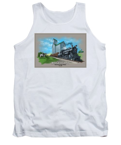 The Ross Elevator Sentinel Of The Plains Tank Top