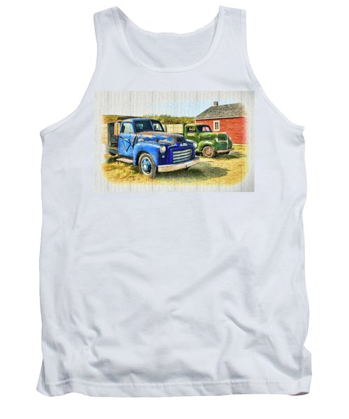 The Strong Silent Types Tank Top