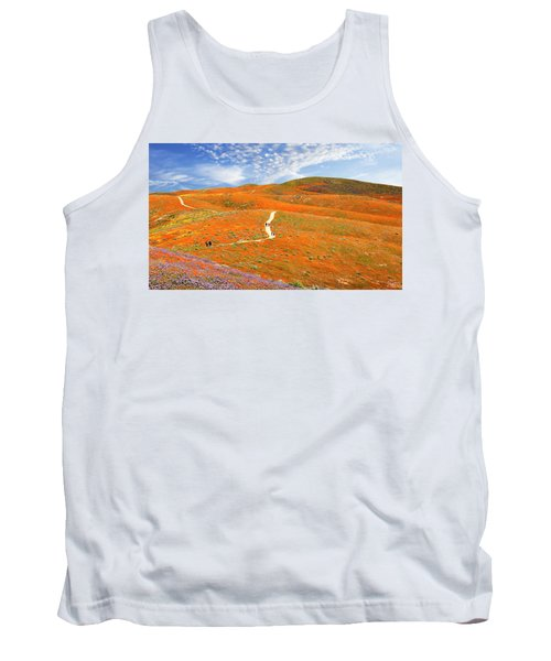 The Trail Through The Poppies Tank Top