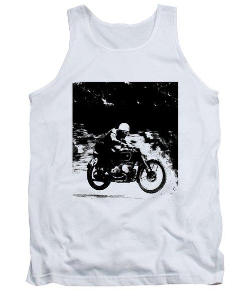 The Vintage Motorcycle Racer Tank Top