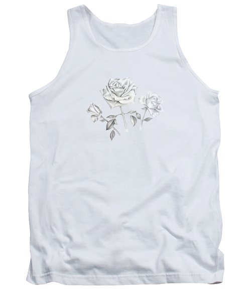 Three Roses Tank Top