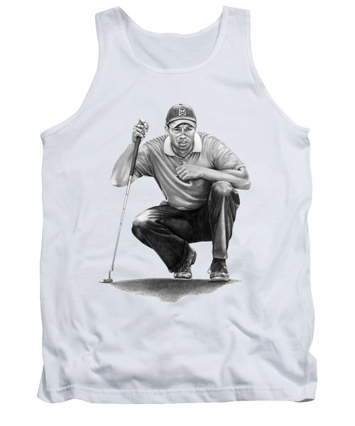 Tiger Woods Crouching Tiger Tank Top