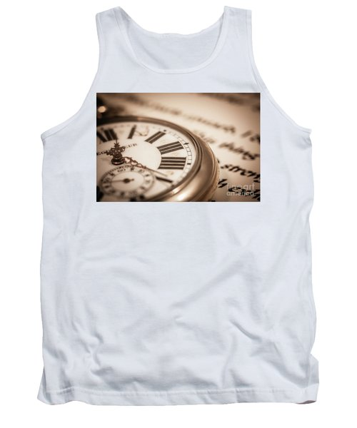 Time And Words Tank Top