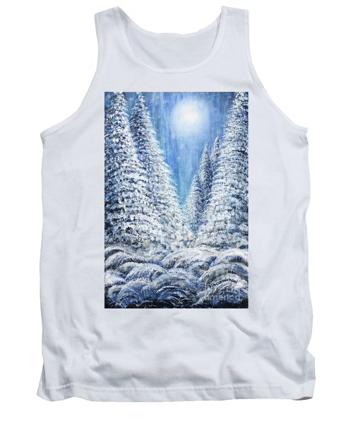 Tim's Winter Forest 2 Tank Top