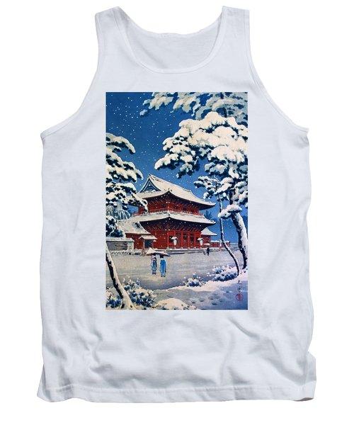 Top Quality Art - Zojoji Snow Tank Top