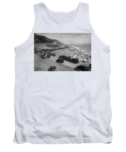 Topanga State Beach 1920 Tank Top