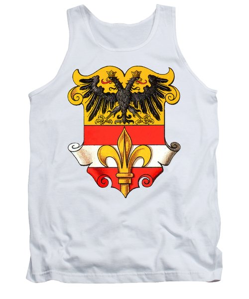 Triest Coat Of Arms 1467-1919 Tank Top