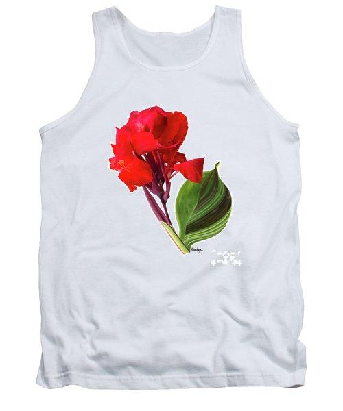 Tropical Bouquet-flower Three Tank Top