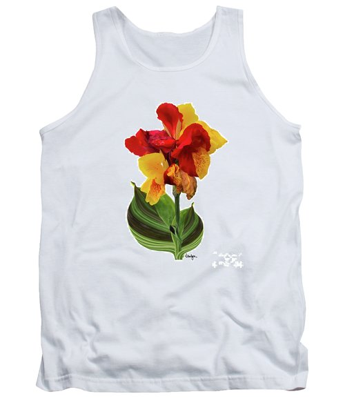 Tropical Bouquet-flower Two Tank Top