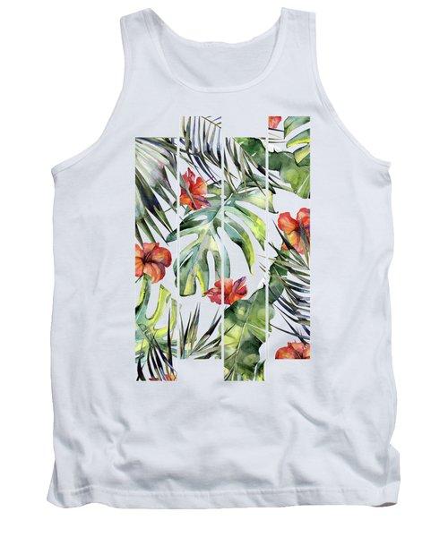 Tropical Garden 5 Tank Top