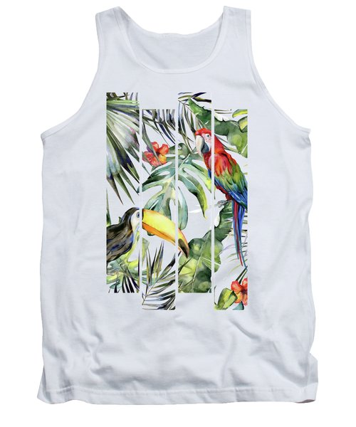 Tropical Jungle Tank Top