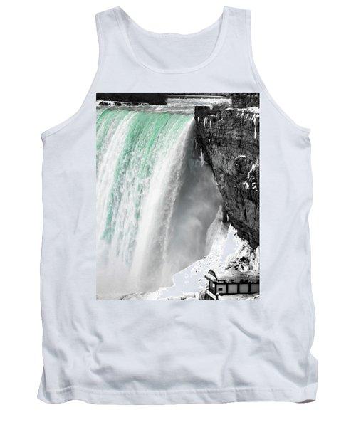Turquoise Falls Tank Top