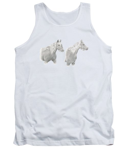 Two Horse Study Tank Top