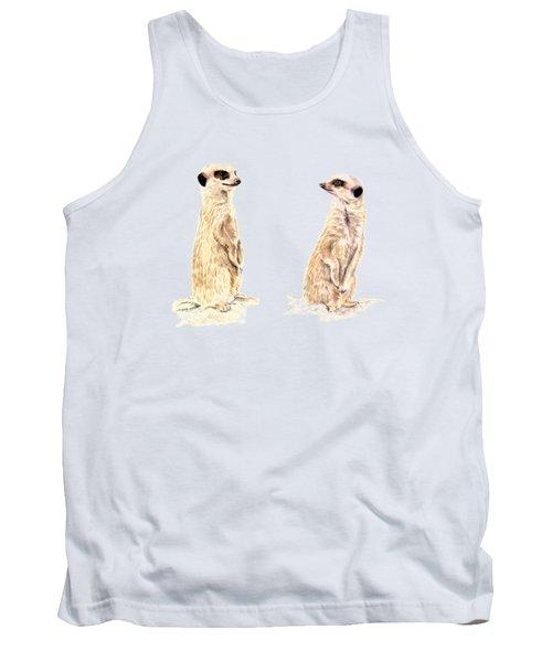 Two Meerkats Tank Top