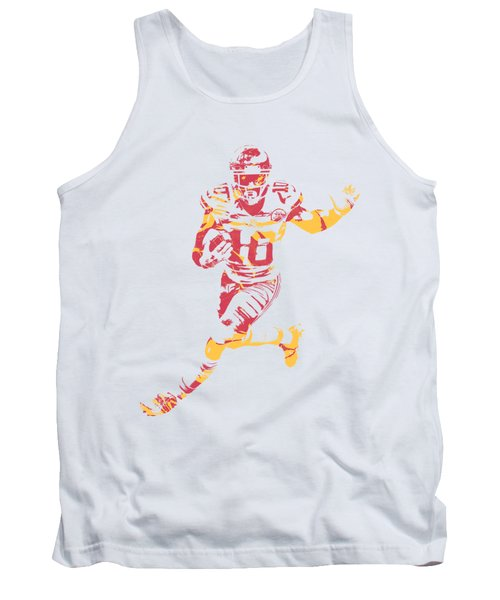 Tyreek Hill Kansas City Chiefs Apparel T Shirt Pixel Art 1 Tank Top