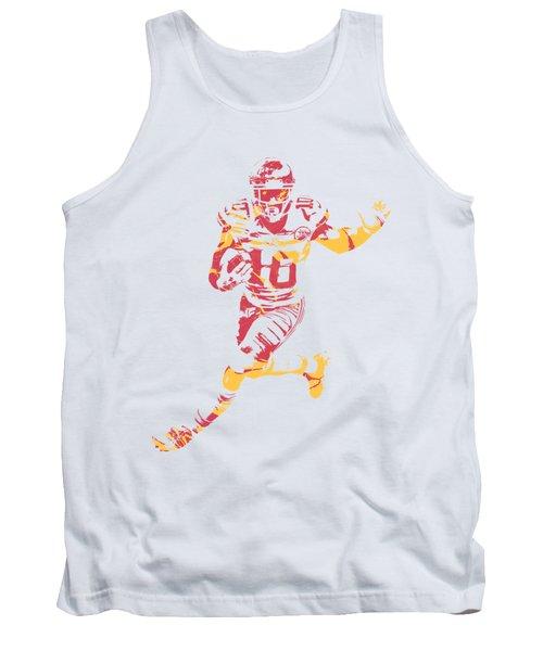 Tyreek Hill Kansas City Chiefs Apparel T Shirt Pixel Art 1 Tank Top