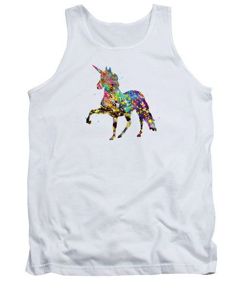 Unicorn-colorful Tank Top