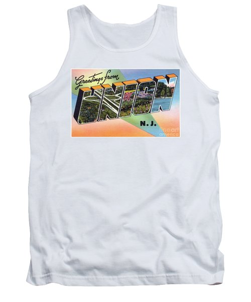 Union Greetings Tank Top
