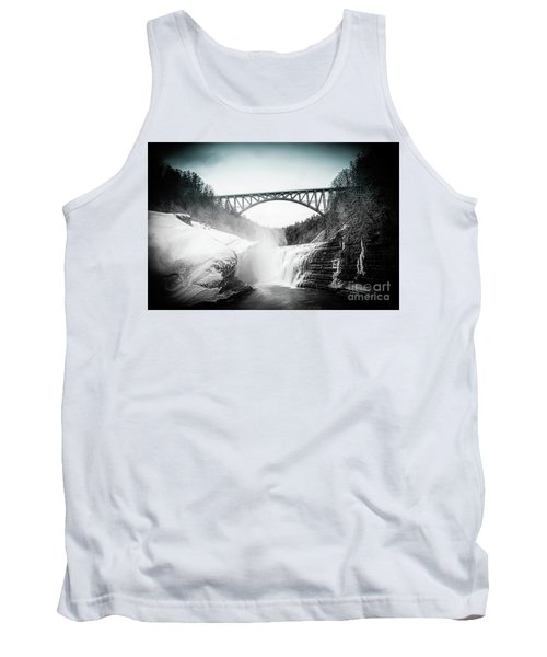 Upper Falls At Letchworth State Park Tank Top