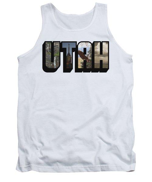 Utah Big Letter Tank Top