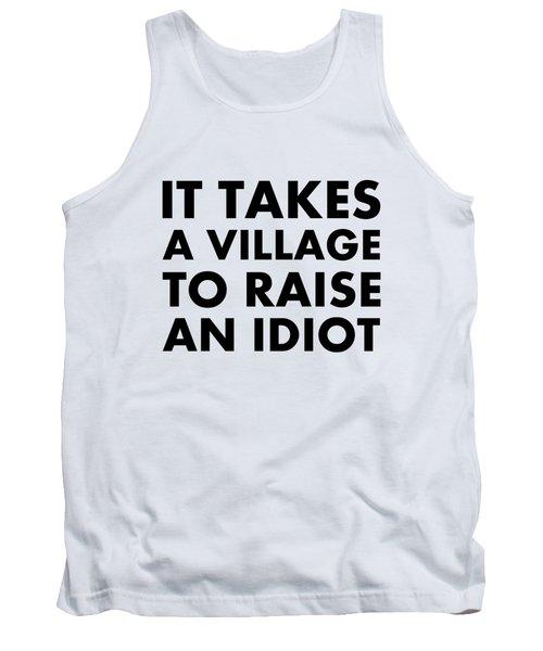 Village Idiot Bk Tank Top