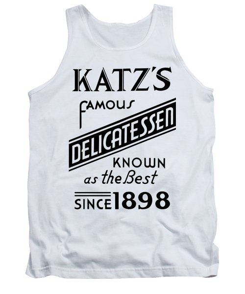 Vintage Katz's Deli Sign - T-shirt Tank Top