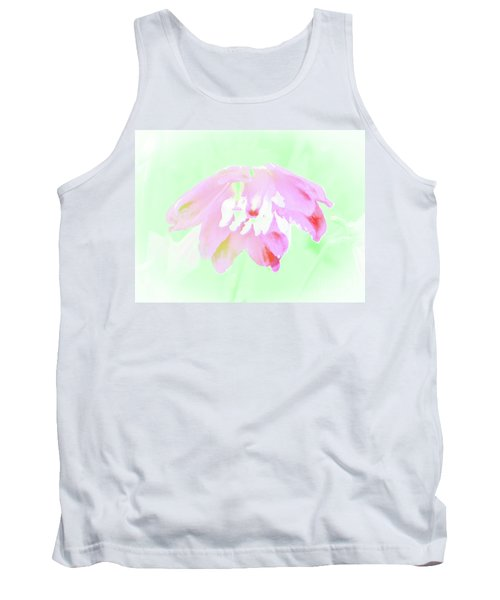 Violet Red Islamic Flora Tank Top