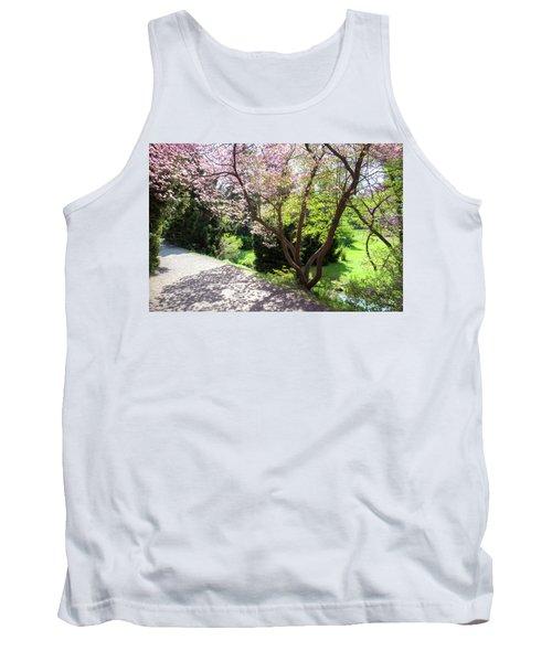 Walk In Spring Eden. Lacy Blooms 1 Tank Top