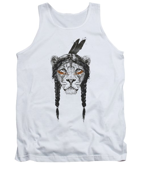 Warrior Lion Tank Top