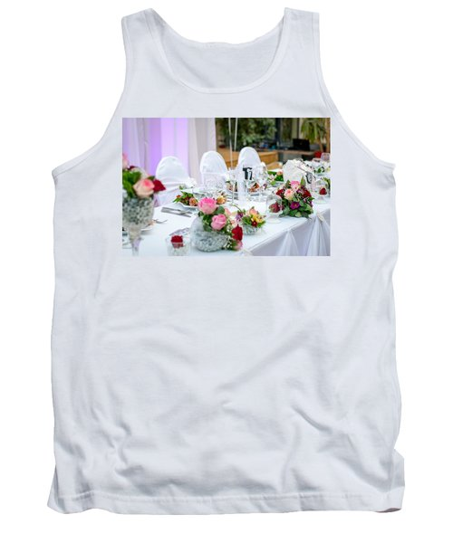 Wedding Table Tank Top