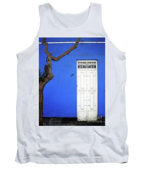 Tank Top featuring the photograph When A Tree Comes Knocking by Rick Locke