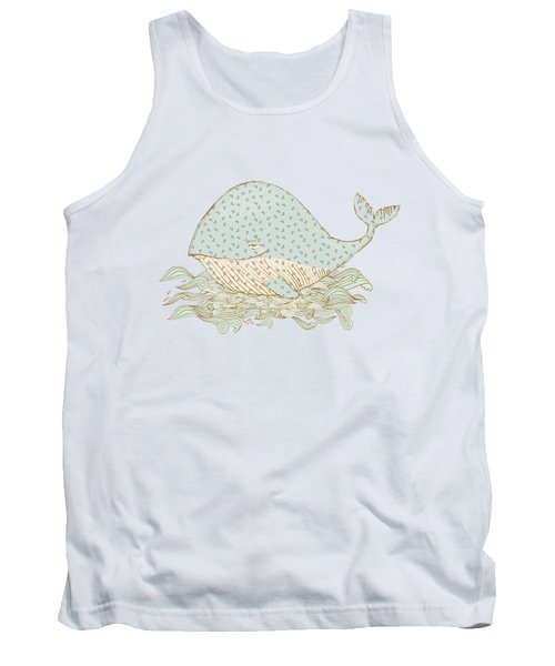 Whimsical Whale Tank Top