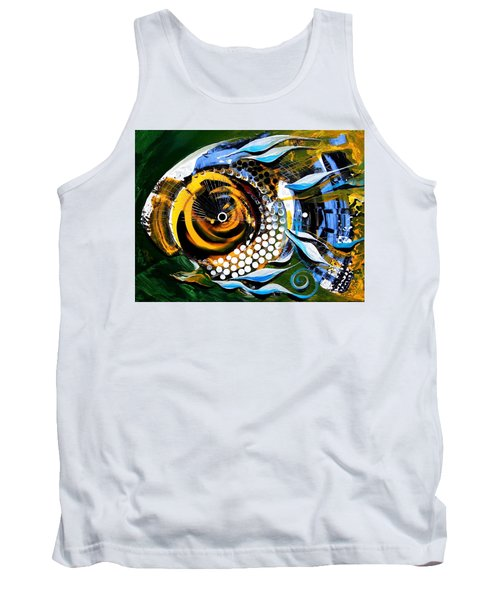 White-headed Mouth Fish Tank Top