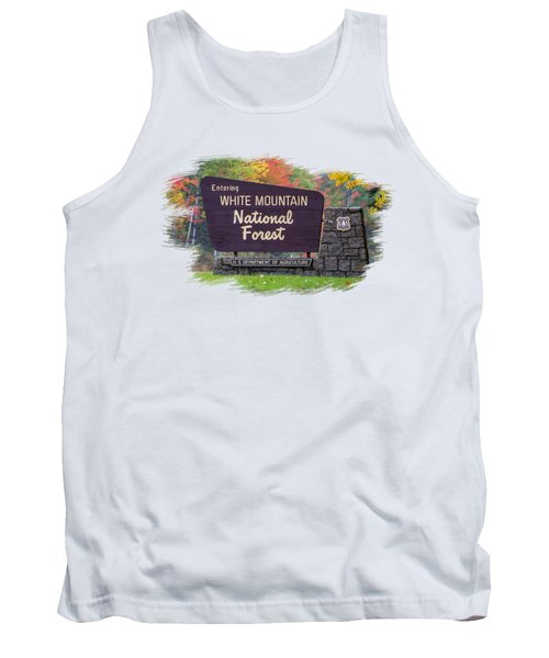 White Mountain National Forest Transparency Tank Top