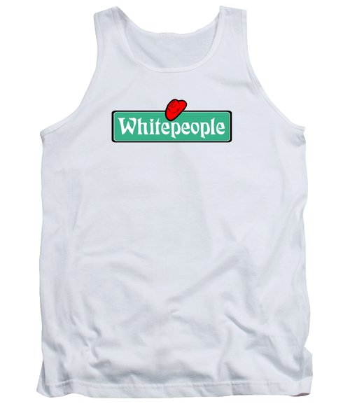 White People Tank Top